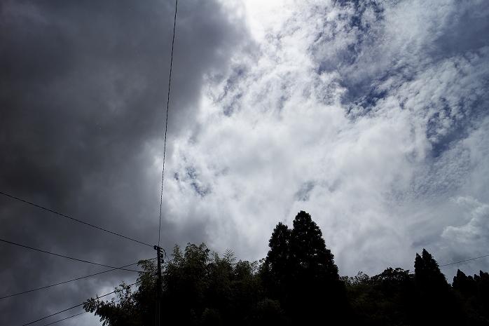 ゲリラ豪雨一過