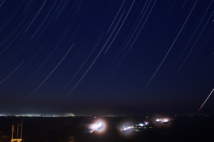 野見金公園 夜